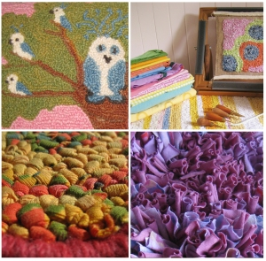 Primitive Rug Hooking Workshop