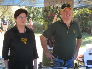 Stallholders - Dot and Ian - Coolana Olives